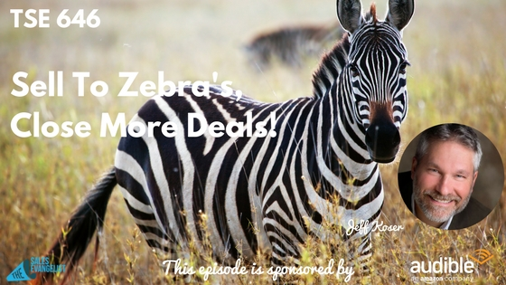 The Sales Evangelist and Selling To Zebras podcast